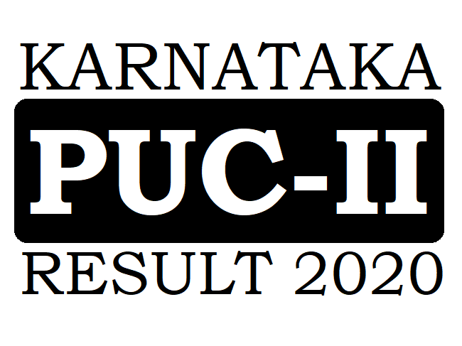 KAR 2nd PUC Result 2020