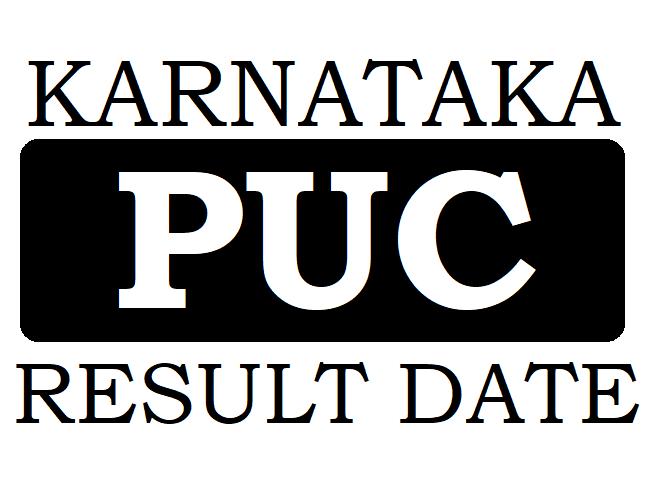 KAR PUC Result Date 2020