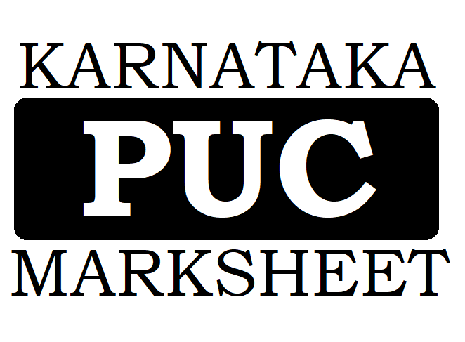 Kar PUC Result 2021 Marksheet Download